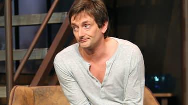 """Pierre Palmade dans la pièce """"Le Comique"""" en 2008"""