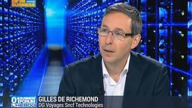 Gilles de Richemont, Directeur Général de Voyages-SNCF Technologies utilise le cloud afin de disposer d'une usine logicielle agile pour gérer tant l'infrastructure que le développement.