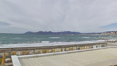 La plage de la Croisette à Cannes - Image d'illustration
