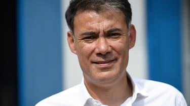 Le secrétaire général du parti socialiste Olivier Faure, le 8 septembre 2018.