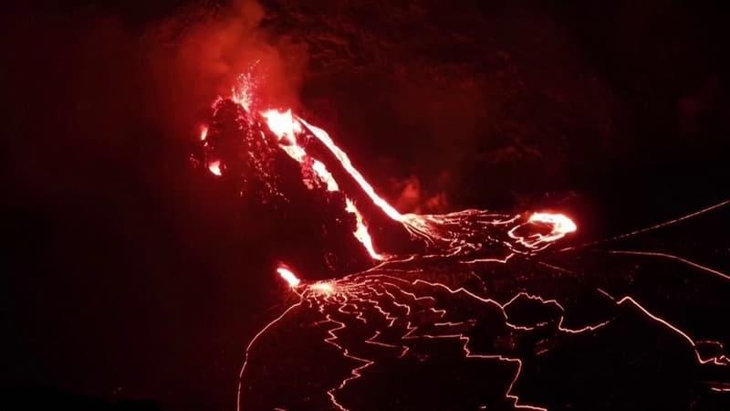 À Hawaï, de nouvelles images impressionnantes du volcan Kilauea en éruption