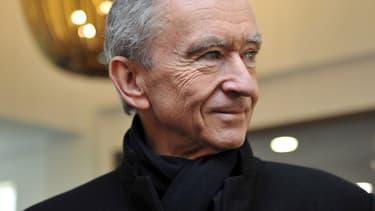 """Bernard Arnault estime que """"les Français, dans leur grande majorité, sont intéressés par l'entreprise""""."""