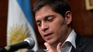 Le ministre argentin de l'Economie Axel Kiciloff a quitté New York sans parveir à un accord avec ses créanciers.