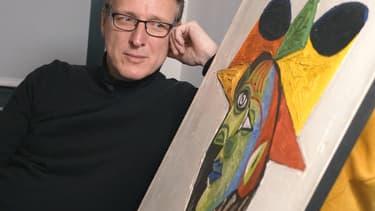 Arthur Brand, expert d'art néerlandais, le 14 mars 2019