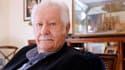 L'ancien animateur, musicien, producteur et auteur Pierre Bellemare, le 25 octobre 2011 à son domicile de Neuilly.