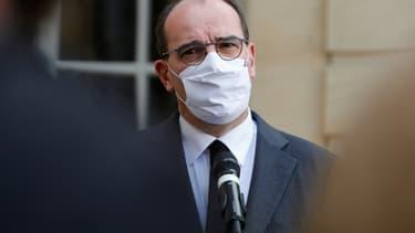 Le Premier ministre Jean Castex, le 26 octobre 2020 à Matignon, à Paris