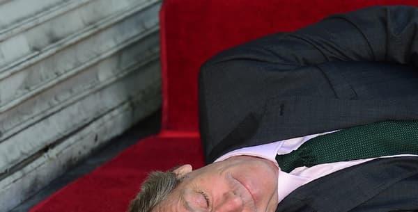 Hugh Laurie a reçu son étoile sur le Walk of Fame à Hollywood, le 25 octobre 2016