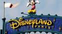 Le parc d'attraction Disneyland Paris.