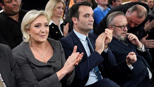 Marine Le Pen ne veut pas le départ de Florian Philippot du Front national