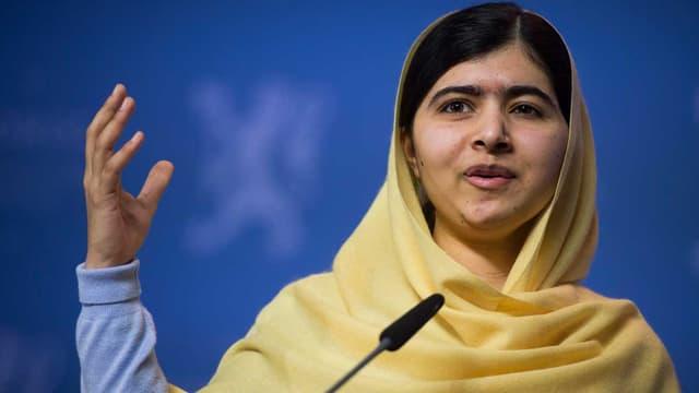 Malala à Oslo, en décembre dernier.