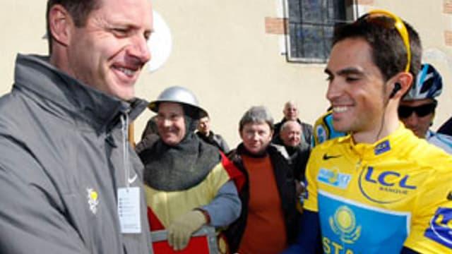 Christian Prudhomme considère Alberto Contador comme l'homme à abattre de cette 97e édition du Tour