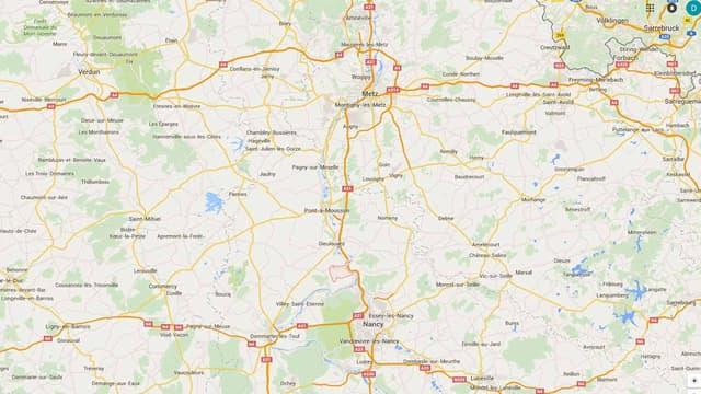 Trafic interrompu lundi entre Metz et Nancy.