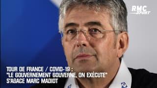 Tour de France / Covid : « Le gouvernement gouverne, on exécute » s'agace Madiot
