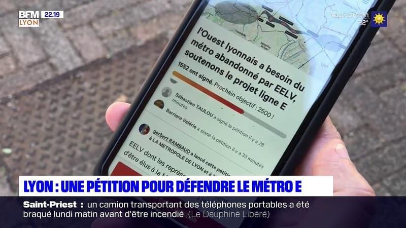 """""""C'est totalement anti-environnemental"""": un élu lyonnais lance une pétition pour défendre le projet du métro E"""