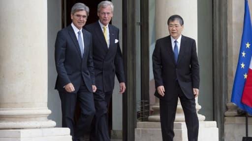 Les représentants de Siemens et Mitsubishi ont été reçus à l'Elysée, ce mardi 17 juin.