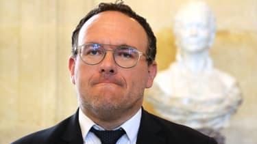 Damien Abad au Palais-Bourbon