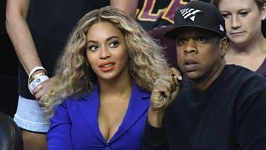 Beyoncé et Jay Z au Quicken Loans Arena à Cleveland en 2016