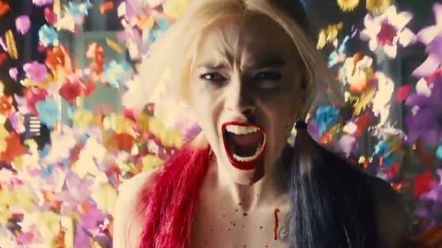 Margot Robbie dans Suicide Squad de James Gunn.
