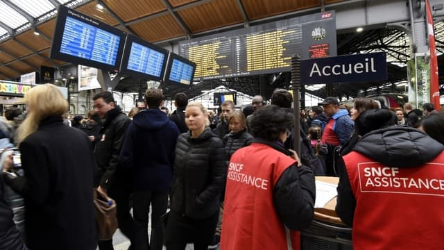La SNCF lance un dispositif anti-file d'attente -