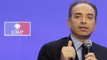 """Le secrétaire général de l'UMP, Jean-François Copé. L'UMP, rejetée dans l'opposition pour la première fois depuis sa création en 2002, s'efforce d'engager sans heurts son """"aggiornamento"""", une réflexion sur ses """"valeurs"""" qui sera au coeur de la bataille po"""