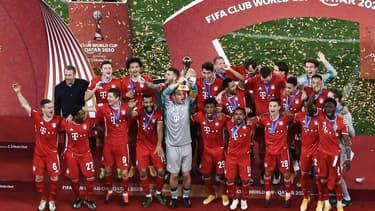 La joie des joueurs du Bayern