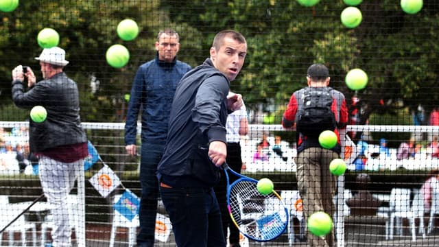Liam Gallagher, fan de tennis et nouveau fan de course à pied.