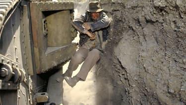 """Harrison Ford dans """"Indiana Jones et la dernière croisade"""", en 1989."""