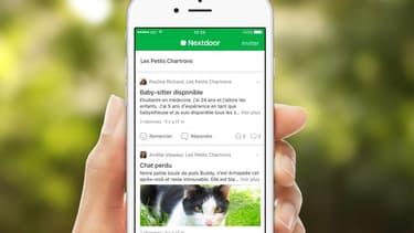 Tout voisin s'enregistrant sur Nextdoor devra utiliser son vrai nom et prouver son adresse postale de résidence.