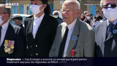 8-Mai: à Entrevennes, dans les Alpes de Haute-Provence, un résistant décoré