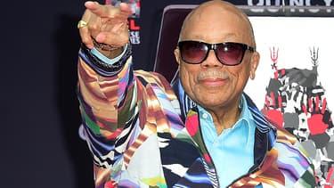 Quincy Jones en novembre 2018 à Hollywood.