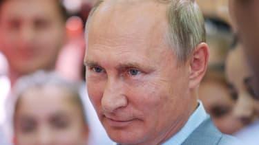 """""""Nous produisons actuellement 1,5 million de barils de pétrole par jour"""", a déclaré Vladimir Poutine."""