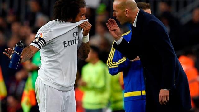 Zidane refait confiance à Marcelo.