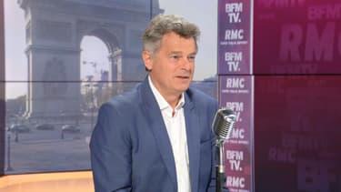 Le secrétaire national du PCF, Fabien Roussel, le 19 avril 2021
