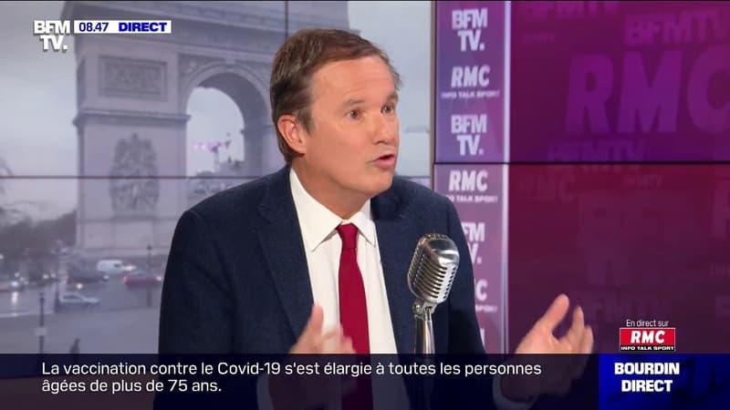 """Nicolas Dupont-Aignan """"ne peut pas dire que le vaccin protège plus de deux mois"""""""