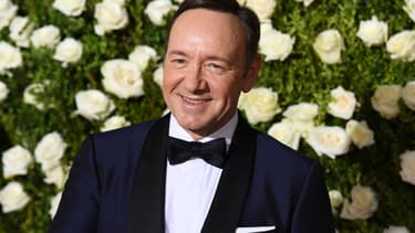 Kevin Spacey en juin 2017 à New York