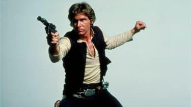 Harrison Ford dans le rôle de Han Solo