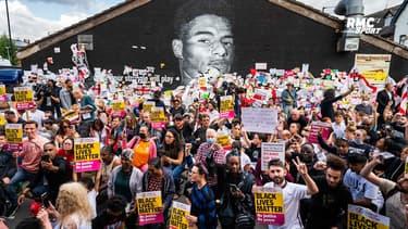 Angleterre : Le magnifique soutien des habitants de Manchester pour Rashford, victime de racisme
