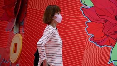 Une habitante de Hong Kong