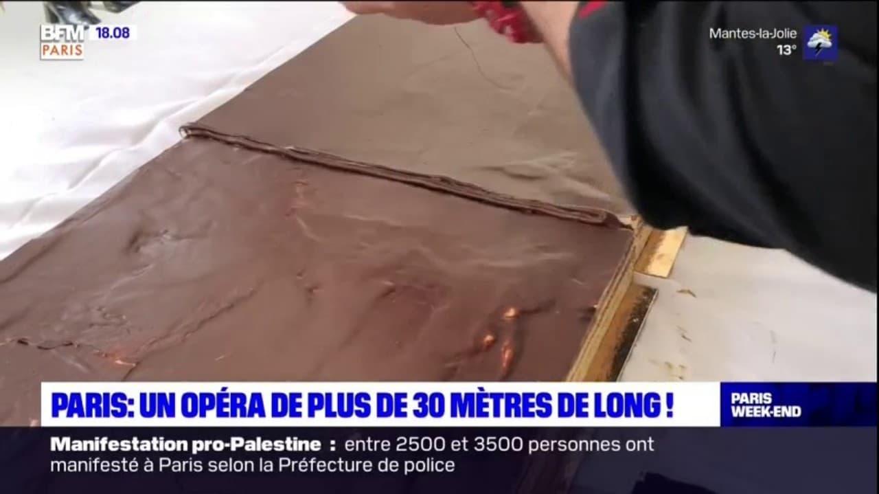 A Paris, des pâtissiers réalisent le plus long opéra du monde !