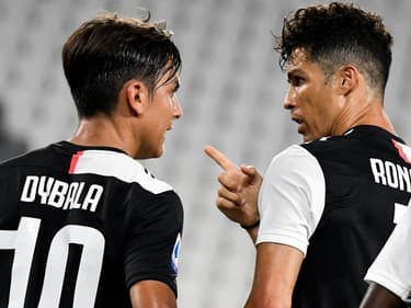 Paulo Dybala et Cristiano Ronaldo