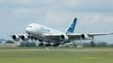 L'A380 d'Airbus (image d'illustration)