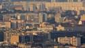 Vue des quartiers nord de Marseille.