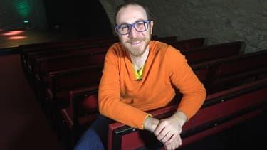 Marius Colucci au théâtre du Sentier des Halles, le 20 janvier 2016.