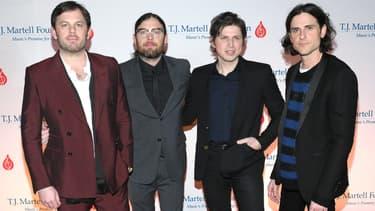 Les membres de Kings of Leon à Nashville en 2019