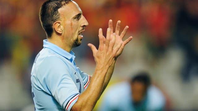 Franck Ribéry à l'assaut de la Géorgie