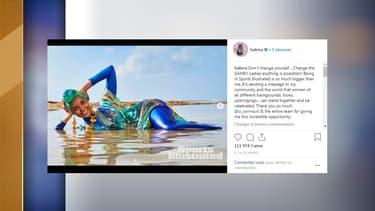 Halima Aden est devenu la première femme à poser en burkini dans Sports Illustrated.