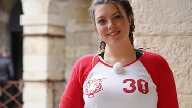 Héloïse Martin dans Fort Boyard sur France 2.