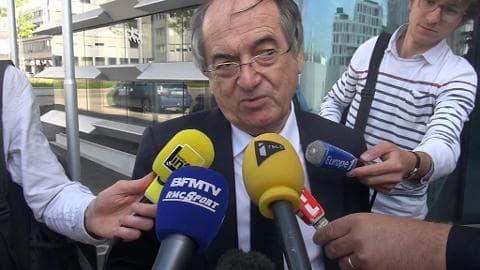 """Présidence de l'UEFA: Voter Blatter, """"ça mérite réflexion"""", estime Noël Le Graët"""