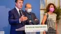 Christian Estrosi à la tribune ce vendredi 24 septembre pour annoncer le nouveau plan climat de la Ville de Nice
