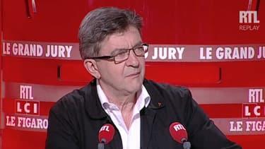 Jean-Luc Mélenchon était l'invité du Grand Jury d'RTL, le 1er novembre 2015.